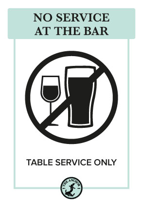 No Service at the Bar Image